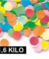 1 6 kilo gekleurde confetti