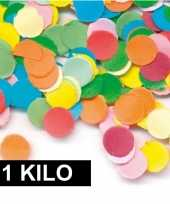 1 kilo gekleurde confetti