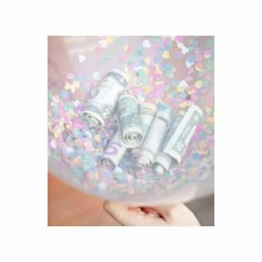 Feestwinkel   10 hartjes ballonnen vullen met confetti morgen amsterd
