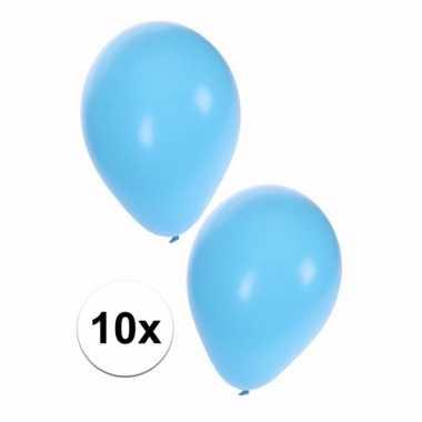 Feestwinkel | 10x baby blauwe ballonnen morgen amsterdam