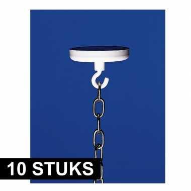 Feestwinkel | 10x haak met ronde magneet morgen amsterdam