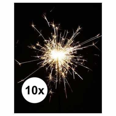 Feestwinkel | 10x party sterretjes 25 cm morgen amsterdam