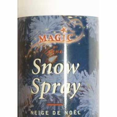 2 sneeuwspray spuitbussen 150 ml