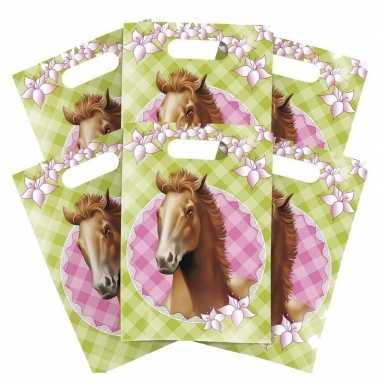 Feestwinkel | 24x paarden thema feest verjaardag snoepzakjes morgen amsterdam