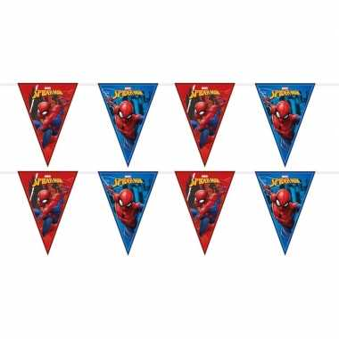 Feestwinkel | 2x marvel spiderman vlaggenlijnen kinderverjaardag morg