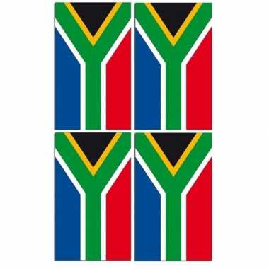 Feestwinkel | 2x papieren vlaggenlijnen zuid-arfika morgen amsterdam