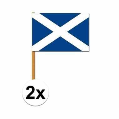 Feestwinkel   2x schotland zwaaivlaggetjes morgen amsterdam