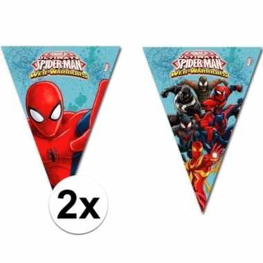 2x stuks spiderman warriors slingers 2 3 meter