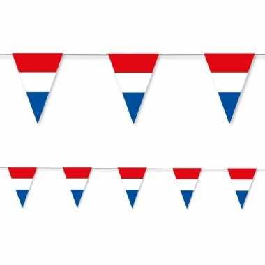 Feestwinkel | 3x holland vlaggenlijn papier 3,5 meter morgen amsterda