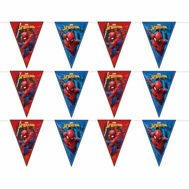 Feestwinkel | 3x marvel spiderman vlaggenlijnen kinderverjaardag morg
