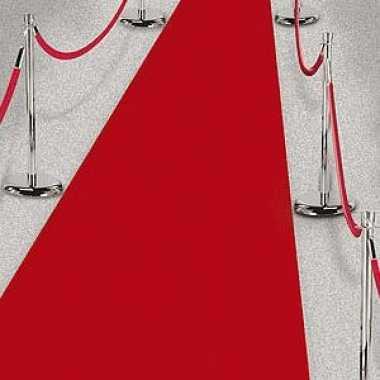 Feestwinkel | 3x rode lopers voor een feest 450 cm morgen amsterdam