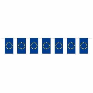 Feestwinkel | 3x stuks slinger europa van papier 5 meter morgen amsterdam