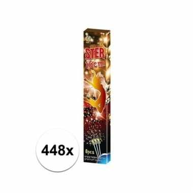 448x party sterretjes 16 cm