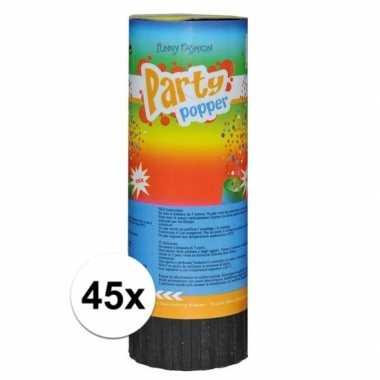 45x voordelige party popper 11cm