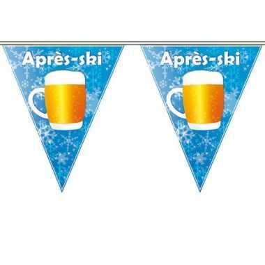 Feestwinkel | 4x apres ski bierfeest vlaggenlijn 5 meter morgen amsterdam