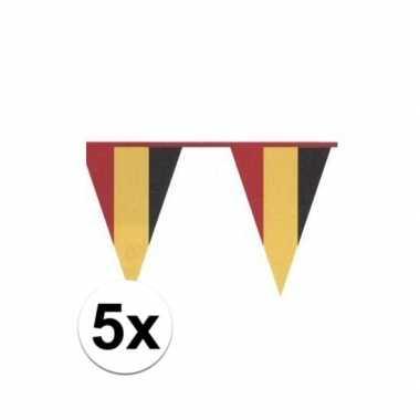 Feestwinkel | 5x belgische vlaggenlijn morgen amsterdam