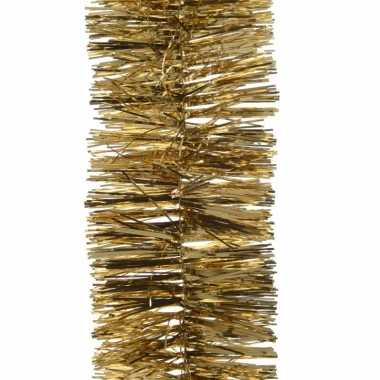 Feestwinkel | 5x kerst lametta guirlandes goud 7 x 270 cm kerstboom v