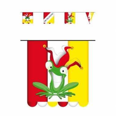 Feestwinkel | 5x stuks vlaggenlijn carnaval oeteldonk 3 meter morgen amsterdam