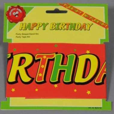 6 meter tape happy birthday