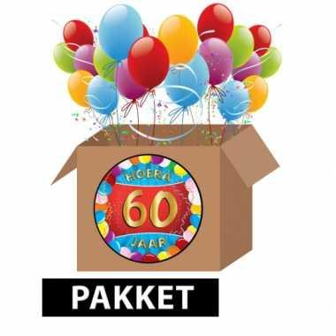 Feestwinkel   60 jaar feestartikelen pakket morgen amsterdam