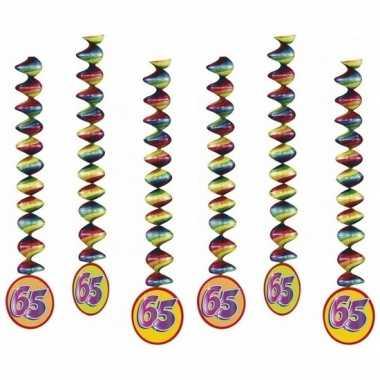 Feestwinkel | 65 jaar feest versiering spiralen morgen amsterdam