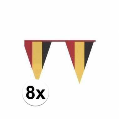 Feestwinkel | 8x belgische vlaggenlijn morgen amsterdam