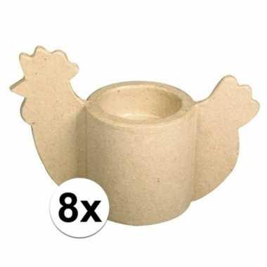 Feestwinkel | 8x pasen eierdop om zelf te versieren morgen amsterdam