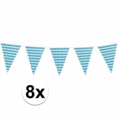 Feestwinkel   8x xl oktoberfest vlaggenlijnen 8 m morgen amsterdam