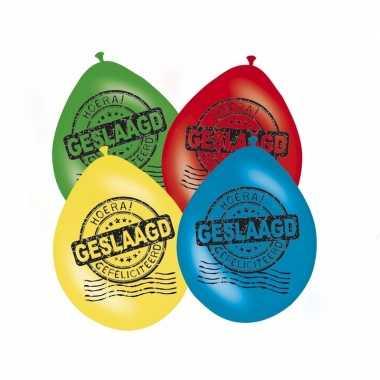 Feestwinkel | afgestudeerd versiering ballonnen 8x morgen amsterdam