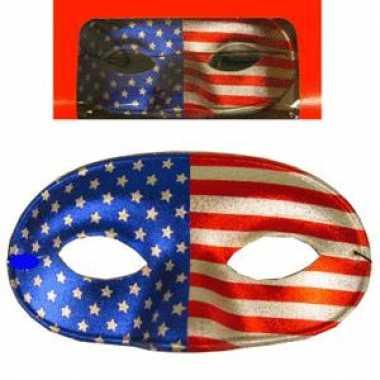Amerika oogmasker met elastiekje