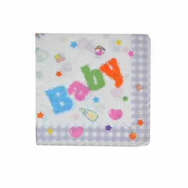 Baby party servetten 16cm