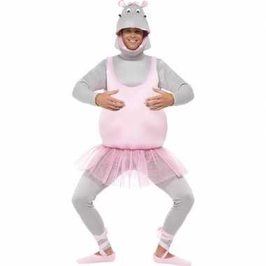 Ballet nijlpaard verkleedkleding voor volwassenen