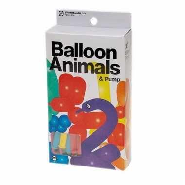 Ballonnen om dierenfiguren te maken 24 stuks