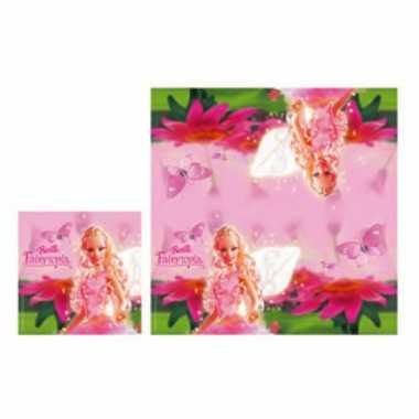 Barbie pakketje servetten 20 stuks
