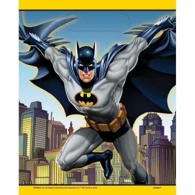 Feestwinkel | batman uitdeelzakjes 8 stuks morgen amsterdam