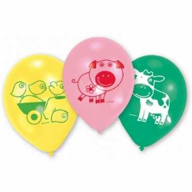 Boerderij dieren ballonnen