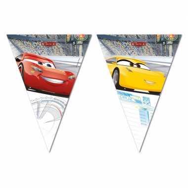 Cars vlaggenlijntje 3 meter 10096430