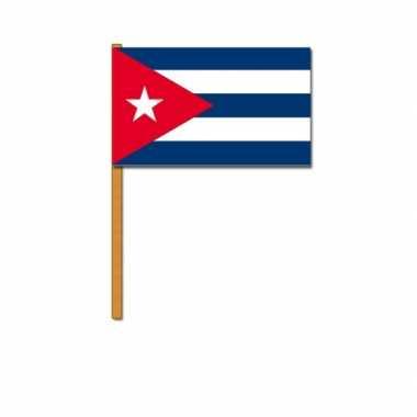 Cuba zwaaivlaggetjes