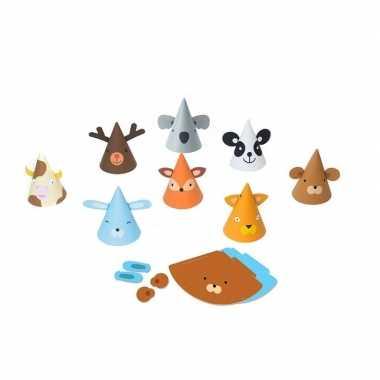 Feestwinkel | dieren hoedjes verjaardagsfeestje morgen amsterdam