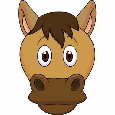 Feestwinkel | dieren masker paard voor kids morgen amsterdam