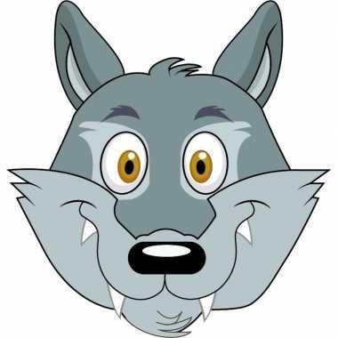 Feestwinkel   dieren masker wolf voor kids morgen amsterdam