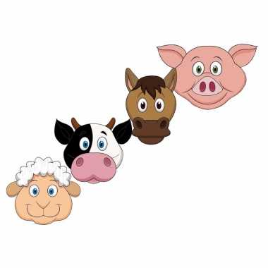 Feestwinkel | dieren maskers boerderij dieren voor kids morgen amster