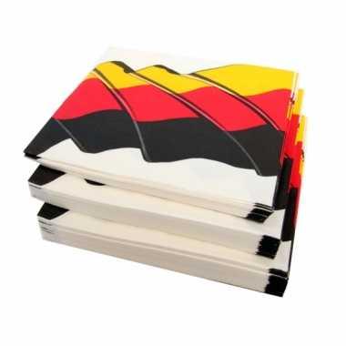 Feestwinkel |  Duitse servetten 50 stuks morgen Amsterdam