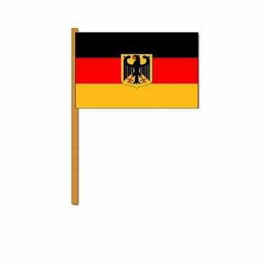 Feestwinkel |  Duitsland zwaaivlaggetjes morgen Amsterdam