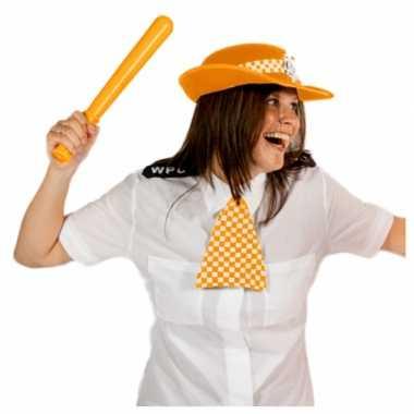Engelse politie set oranje