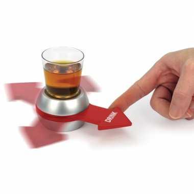 Feestwinkel | feest drankspelletje/drinkspelletje spin the shot/draai