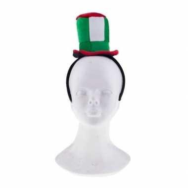 Feestwinkel | feest hoofdband met italie hoedje morgen amsterdam