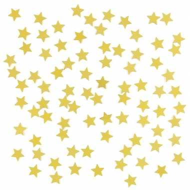 Feestwinkel | gouden sterretjes confetti versiering 15 gram morgen am