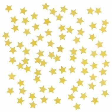 Feestwinkel | gouden sterretjes confetti versiering 2 zakjes morgen a