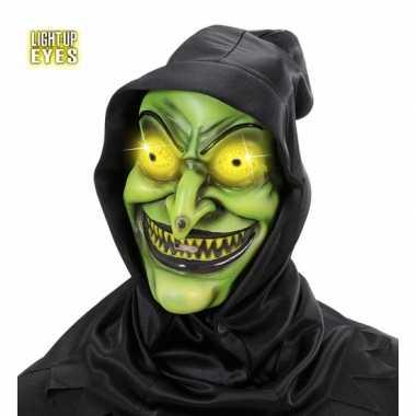 Groen heksen maskes